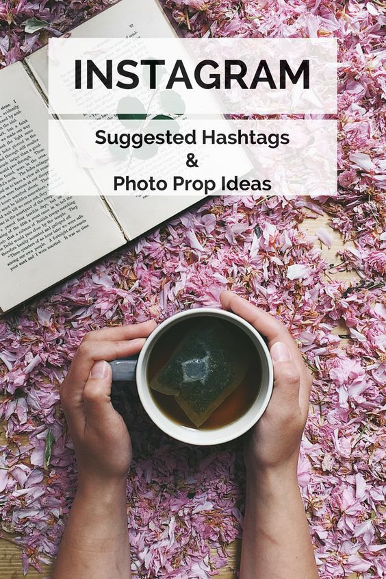 Instagram prop and hashtag ideas