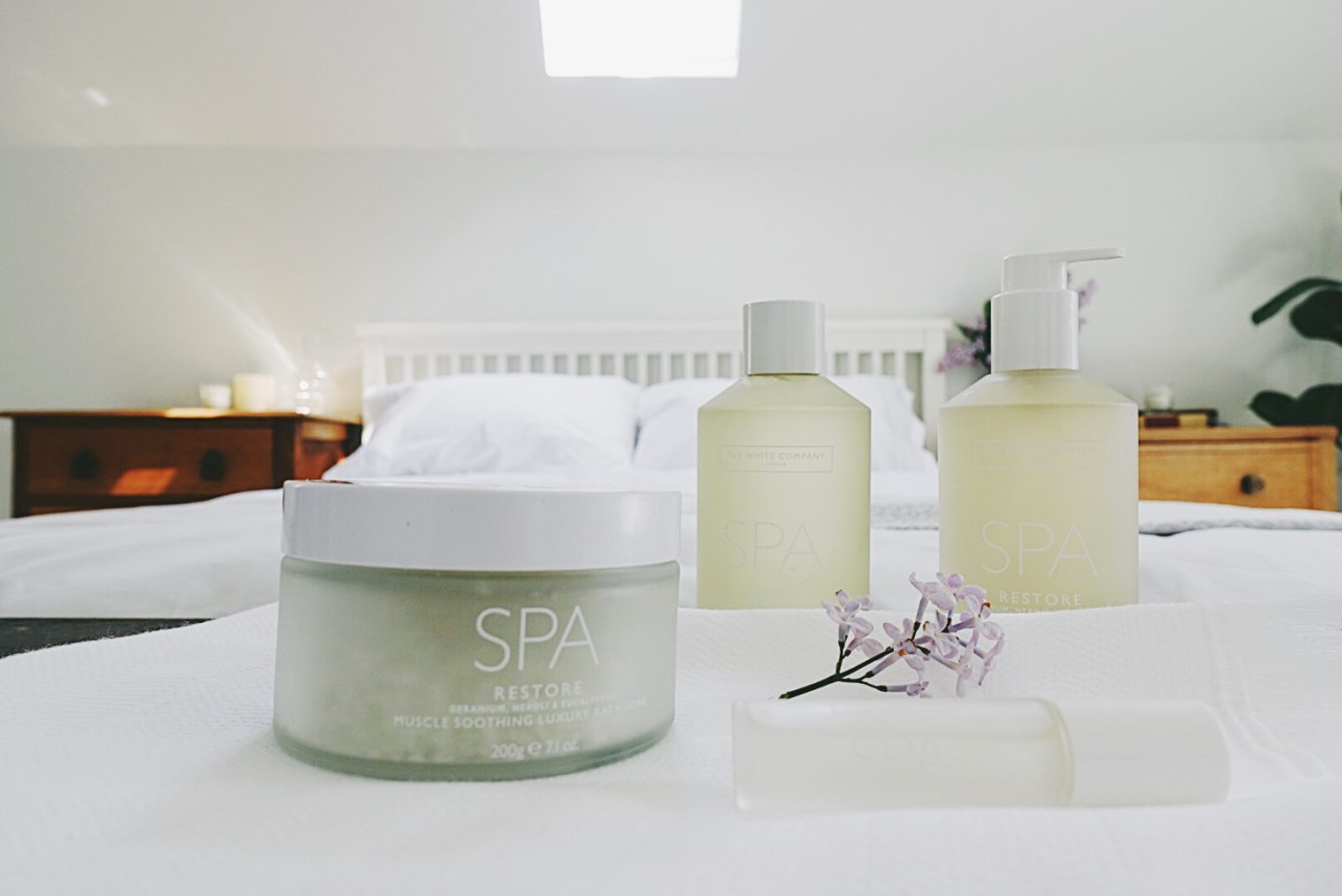 Creating the hotel feel at home: The White Company spa luxuries