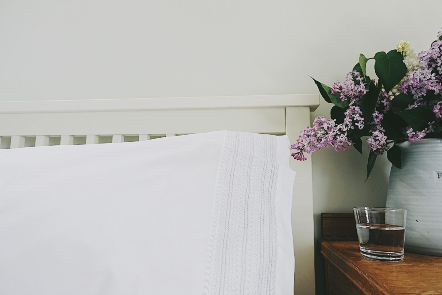 Creating the hotel feel at home: The White Company 100% Cotton Bed Linen