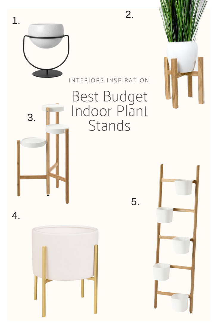 Best Budget Indoor Plant Stands - Interiors Inspiration