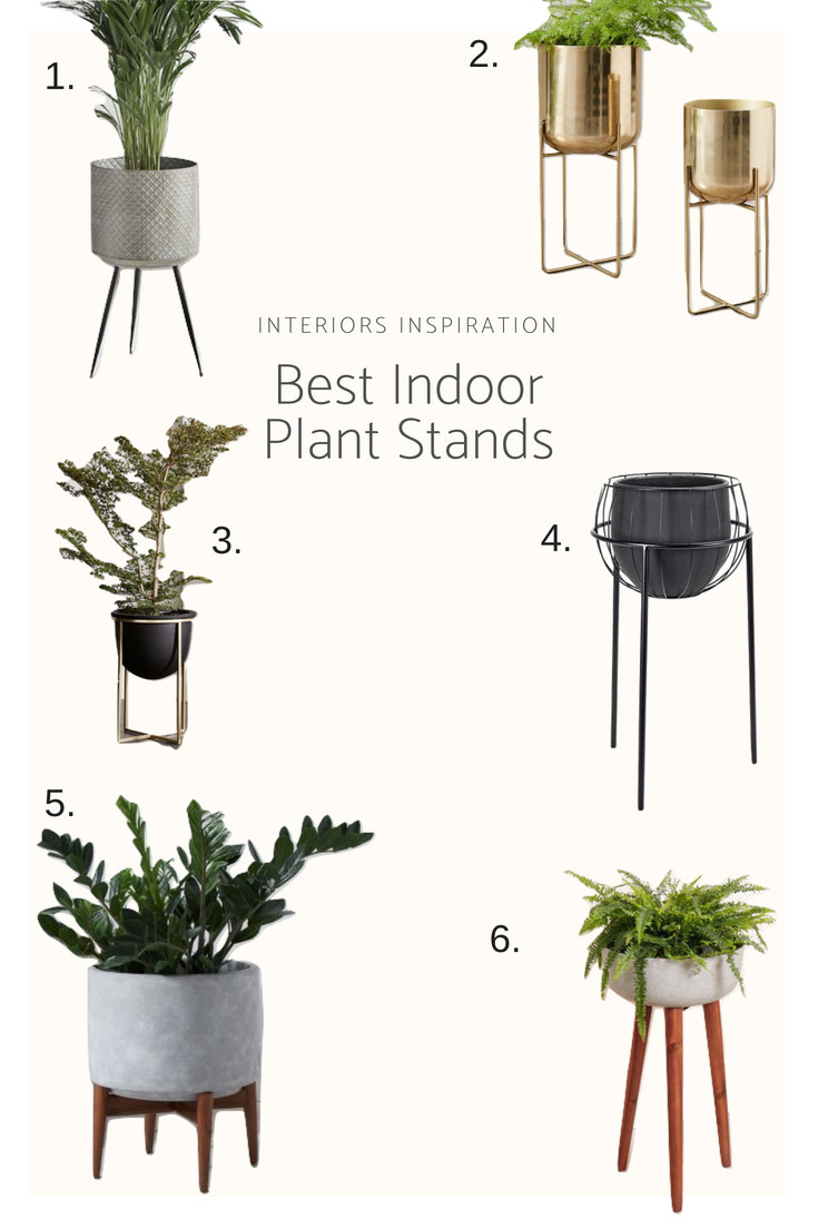 Best Indoor Plant Stands - interiors inspiration