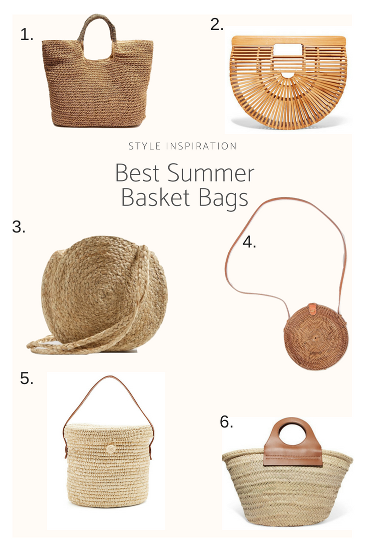 Best summer straw and basket bags