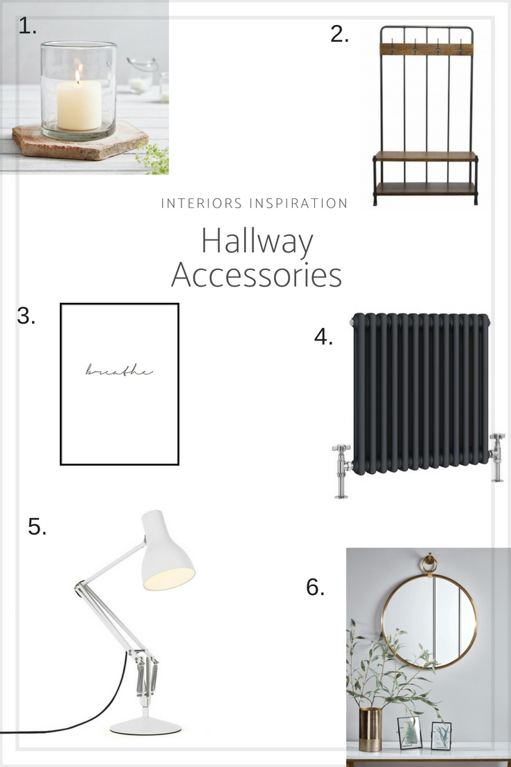 Interiors Inspiration - decor ideas for a white hallway