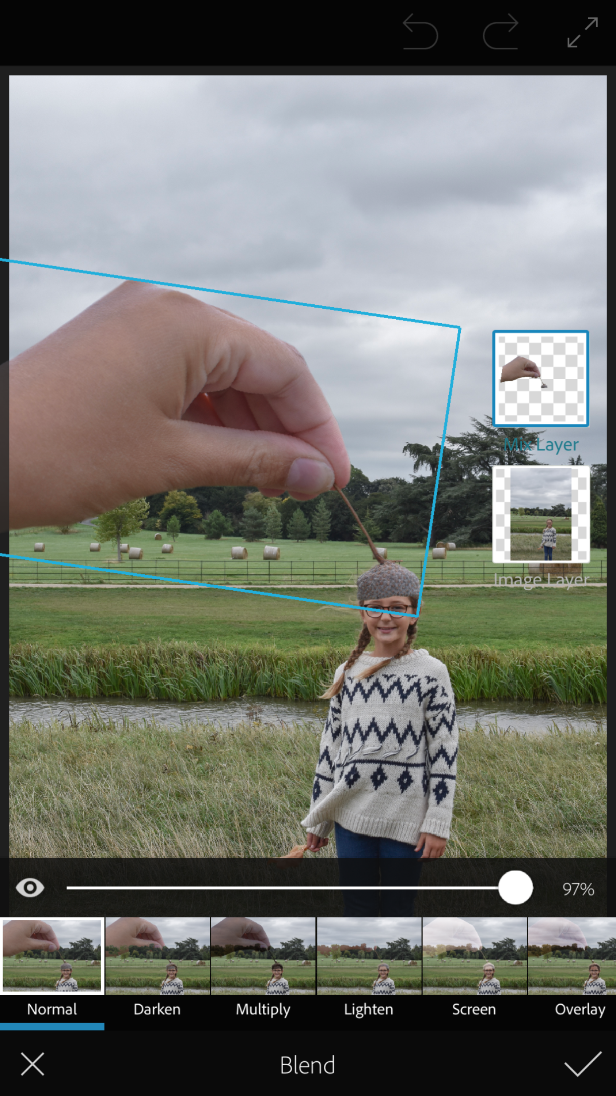 How to take forced perspective photos for instagram