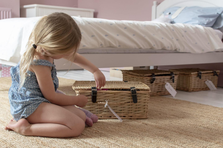 under bed toy storage ideas for children