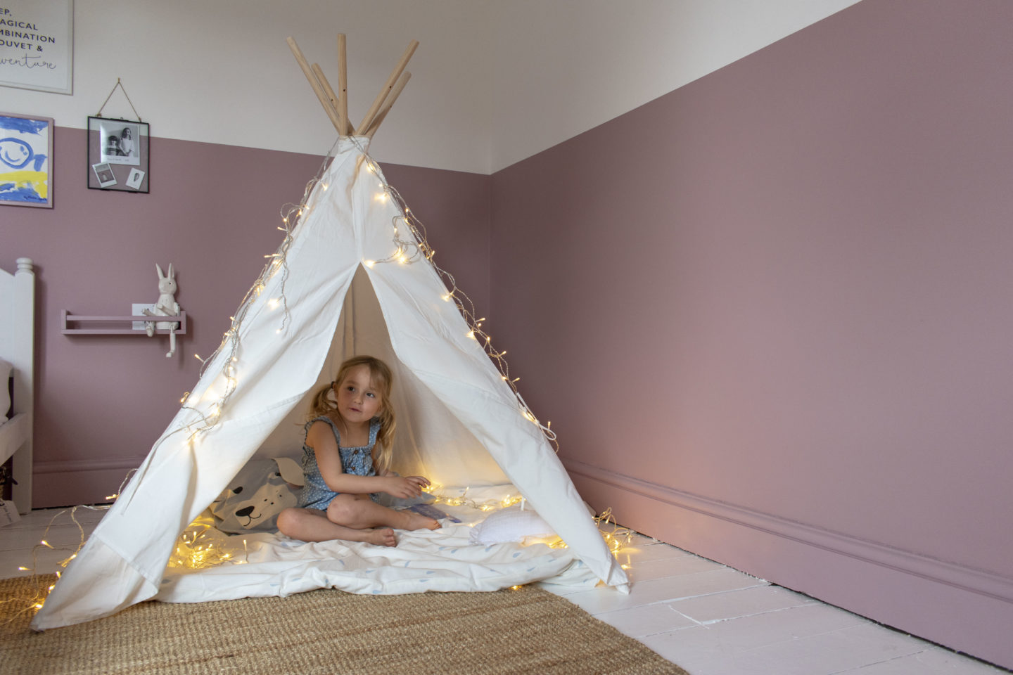 childrens teepee play tent
