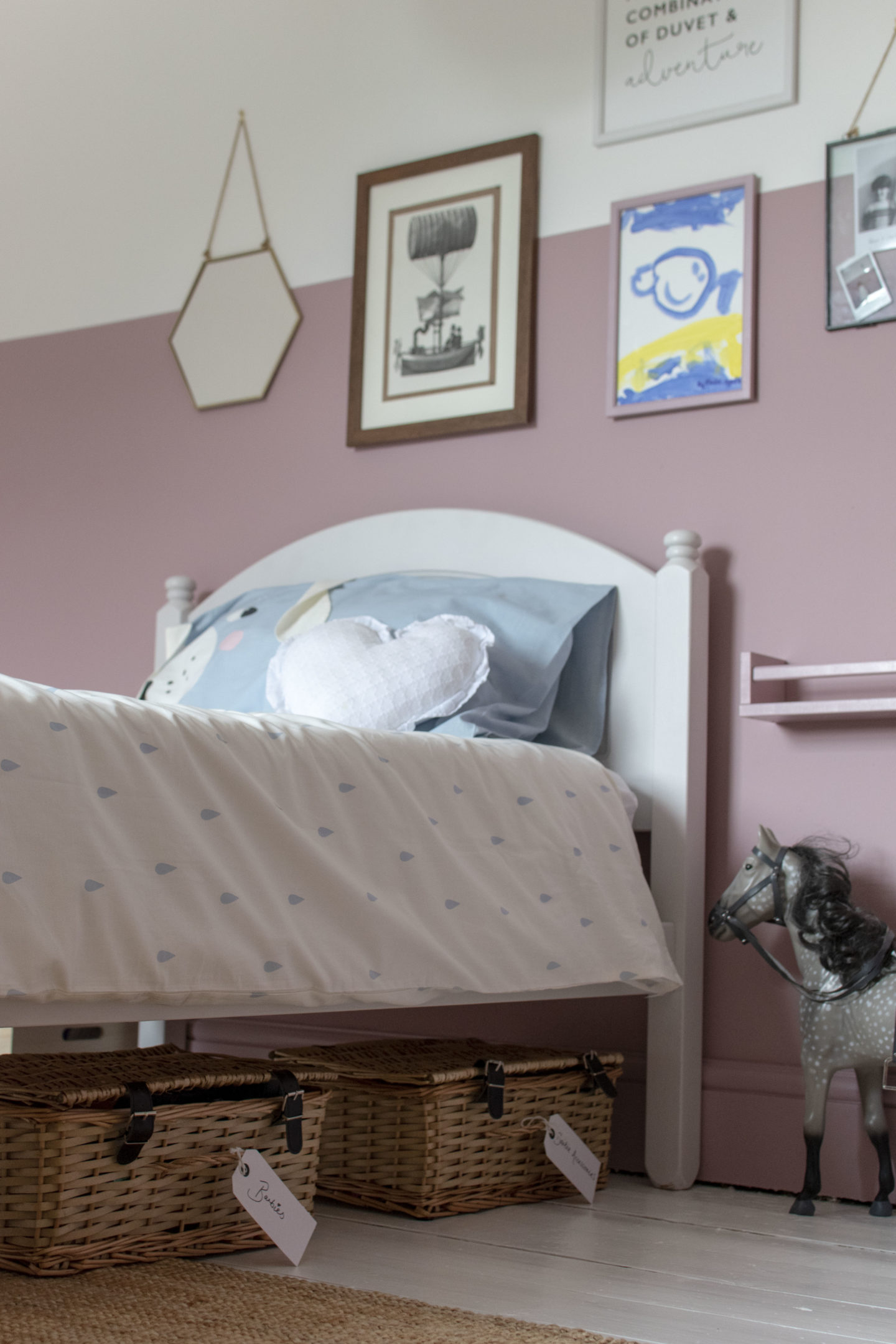 Elodie's Bedroom Update and a Few Toy Storage Ideas